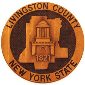 Seal of Livingston County, New York
