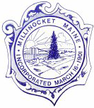 Official seal of Millinocket, Maine