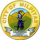 Official seal of City of Milpitas