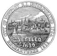 Official seal of Newport, Rhode Island