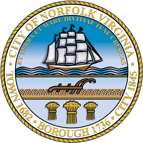 Official seal of Norfolk, Virginia
