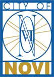 Official seal of Novi