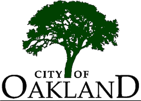 Official seal of Oakland, California