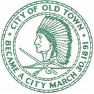Official seal of Old Town, Maine