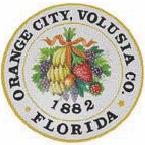 Official seal of Orange City, Florida