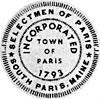 Official seal of Paris, Maine