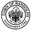 Official seal of Town of Randolph