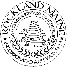 Official seal of Rockland, Maine