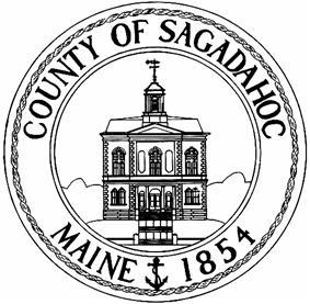 Seal of Sagadahoc County, Maine