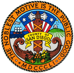 Official seal of San Diego County