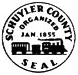 Seal of Schuyler County, New York