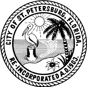 Official seal of St. Petersburg, Florida