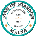 Official seal of Standish, Maine