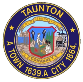 Official seal of Taunton, Massachusetts