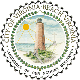 Official seal of Virginia Beach, Virginia