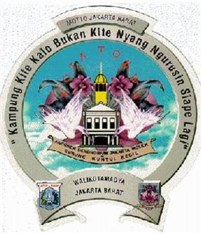 Official seal of City of West Jakarta