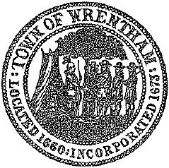 Official seal of Wrentham, Massachusetts