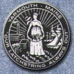 Official seal of Yarmouth, Maine
