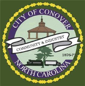 Official seal of Conover, North Carolina