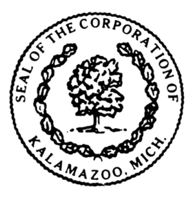 Official seal of Kalamazoo, Michigan