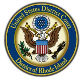 Seal of the United States District Court for the District of Rhode Island