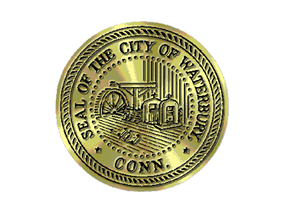 Official seal of Waterbury, Connecticut
