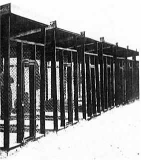 Photograph of steel-cages