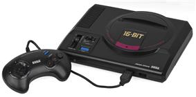 The original Japanese Mega Drive