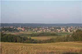 Landscape near Semeliškės