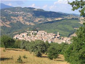 Panorama of Semproniano