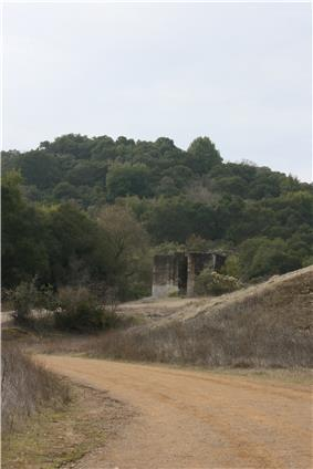Ruins of the Senador Mine.