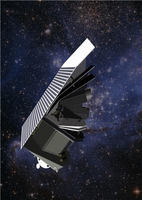 Artist rendering of the Sentinel Space Telescope