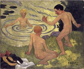 Serusier - boys on a river bank.jpg