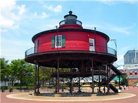 Seven-Foot Knoll Lighthouse