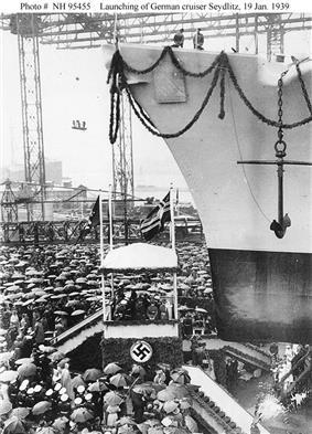 Launching of Seydlitz