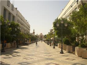 Hédi Chaker Street in Sfax