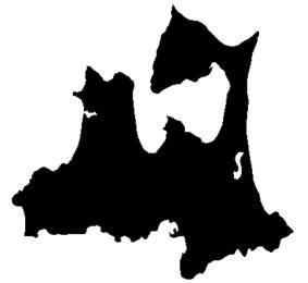 Shadow picture of Aomori Prefecture