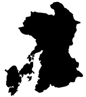 Shadow picture of Kumamoto Prefecture