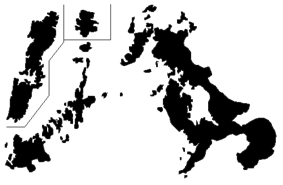 Shadow picture of Nagasaki Prefecture