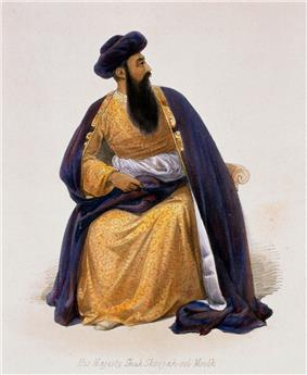 Shuja Shah Durrani of Afghanistan
