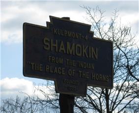 Official logo of Shamokin, Pennsylvania