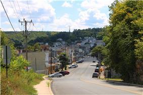 Streets in Shamokin, Pennsylvania