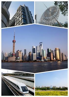 Pudong landmarks & skyline