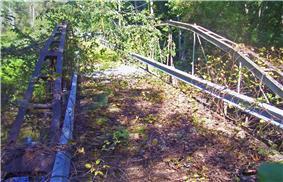 Double-Span Whipple Bowstring Truss Bridge