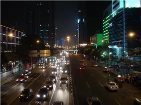 Shen Nan Rd. E West Night View.JPG