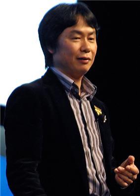 Shigeru Miyamoto at the GDC 2007