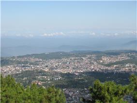 A view of Shillong