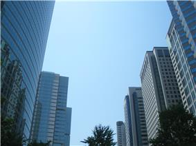 Skyscrapers in Shinagawa