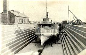 Dry dock in 1890