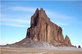 photo of Shiprock
